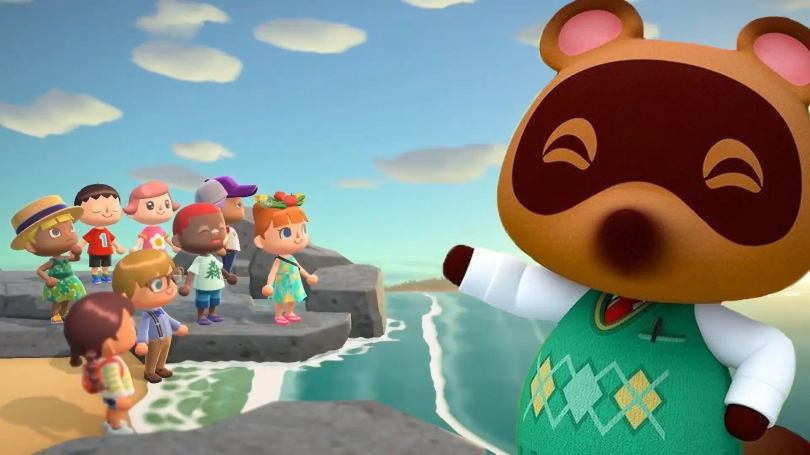 animal crossing new horizons le jeu du moment