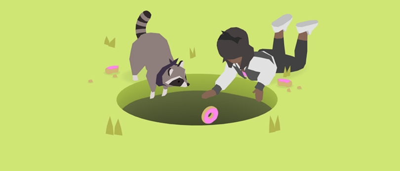 donut county audio video ludo disco milan hung entretien interview jeu vidéo